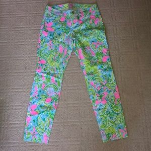 Lilly Pulitzer Kelly Pants, size 6